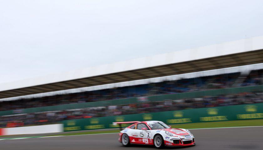 Sven Müller (D) Porsche Mobil 1 Supercup Silverstone 2016 Photo: Porsche Presse