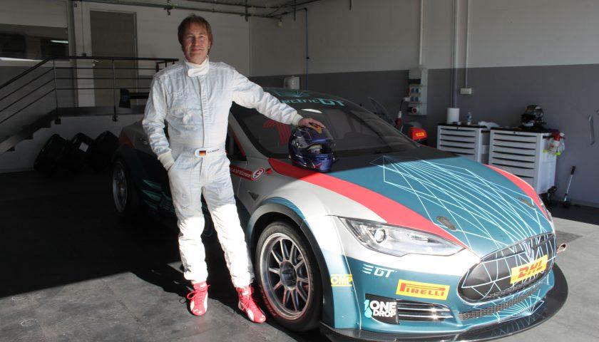 Heinz Harald Frentzen Photo: Electric GT Championship