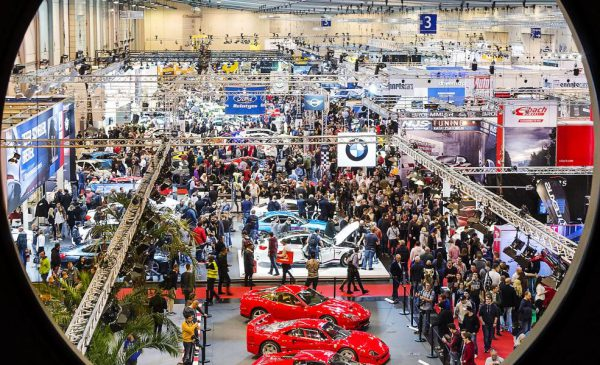The Essen Motor Show provided over 100,000 square metres of breathing car fascination Photo: Rainer Schimm/ ©MESSE ESSEN GmbH