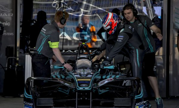 Mitch Evans Secured The Best Qualifying Result For Panasonic Jaguar Racing This Season Photo Zak Mauger Lat Formula E